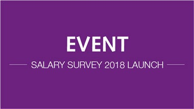 Salary Survey launch