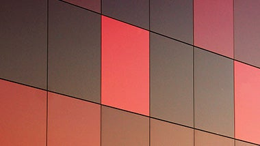 red and black rectangular tiles